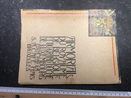 19R/6 - Armorial Du Royaume De Belgique Et Du Grand Duché De Luxembourg Catalogue Pour Chomo Café HAG Bruxelles 45 Chrom - Non Classés