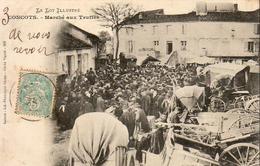 D46  CONCOTS  Marché Aux Truffes ............ Très Rare Carte  En Très Bel état ........ éditeur Girma - Frankreich
