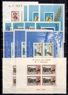 Russie 24 Blocs-feuillets Neufs ** MNH Et Oblitérés 1937/1959. Bonnes Valeurs. B/TB. A Saisir! - 1923-1991 URSS