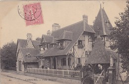 14. CABOURG. CPA .VILLA MAURICE. ANNEE 1908 + TEXTE - Cabourg