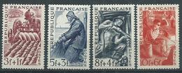 Timbre France Neuf ** Yvt N° 823-826 - France