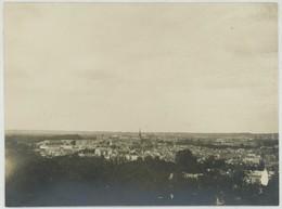 Tirage Argentique Circa 1910. Versailles. Vue Générale. - Places