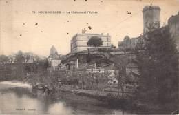 BOURDEILLES - LE CHATEAU ET L'EGLISE - Francia