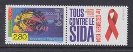 Europa Cept 1994 France 1v + Label Sida/Aids ** Mnh (45773) - 1994