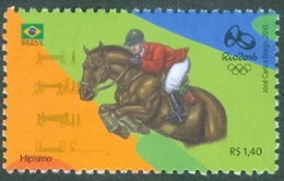 BRAZIL 2015  - OLYMPIC GAMES  Rio 2016  -  EQUESTRIANISM -  HORSE - MINT - Brazilië