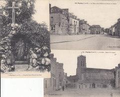 PIPRIAC : Lot De 3 Cartes . - France