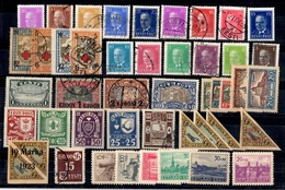 Estonie Belle Petite Collection Neufs Et Oblitérés 1923/1941. Bonnes Valeurs. B/TB. A Saisir! - Estonia