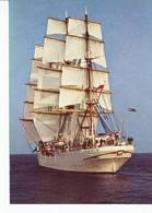 Ansichtskarte -  Segelschiff - Ansichtskarten