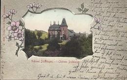 Schloss Düdelingen  -  Château Düdelange  ( Gr.D.Luxembourg )   Verlag Von F.Müller , Düdelange  -  2 Scans - Postales