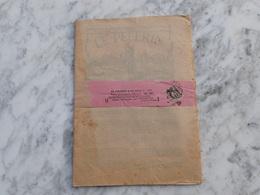 1900 SAGE 4c N° 88 SUR BANDE JOURNAL LE PELERIN PARIS POUR Me LA COMTESSE DE LAROUZIERE CHATEAU DES ROCHES PONTGIBAUD - Marcofilie (Brieven)