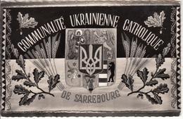 COMMUNAUTÉ  UKRAINIENNE  CATHOLIQUE DE STRASBOURG  - DRAPEAU - Strasbourg