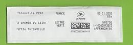 2020  Thionville PPDC - 2000 «Avions En Papier»