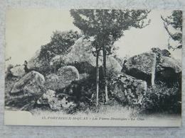 PORTRIEUX ST QUAY             LES PIERRES DRUIDIQUES   LE CHAO - Dolmen & Menhirs