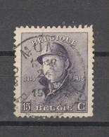 COB 169 Oblitération Centrale MONS 2 - 1919-1920 Albert Met Helm