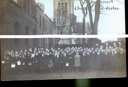 SEBONCOURT PHOTO CARTE  ECOLIERS - Autres Communes