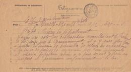 SEPARATION DE L'EGLISE ET DE L'ETAT. 17 DEC 1906. TELEGRAMME. ISERE St ISMIER / 6000 - Oude Documenten