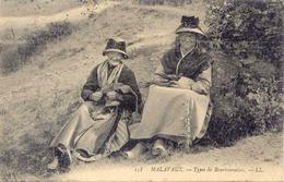 03)  MALAVAUX    - 158 - Types De Bourbonnaises - Andere Gemeenten