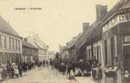 Ledeghem Kerkstraat Estaminet 1915 Grosse Animation - Ledegem