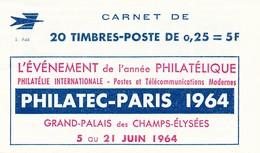 DI-24: FRANCE: Lot Avec  Carnet 1263 Série9-64 **  10  Timbres Au Lieu De 20 - Usage Courant