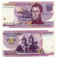 2007 //  BANCO CENTRAL DE CHILE // 2000 PESOS // POLYMER // UNC - Chile
