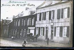 SEBONCOURT LE TABAC PHOTO CARTE - Francia