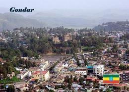 Ethiopia Gondar Aerial View UNESCO New Postcard Äthiopien AK - Äthiopien