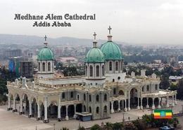 Ethiopia Addis Ababa Medhane Alem Cathedral New Postcard Äthiopien AK - Äthiopien