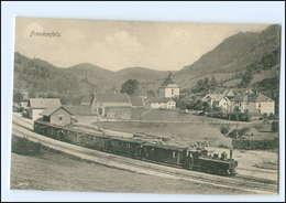 XX007990/ Frankenfels N. Ö.   Bahnhof Eisenbahn AK Ca.1910 Österreich  - Autriche