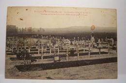 Environs De : SEZANNE  -  Le Cimetière Militaire De  CHICHEY  -Tombes De Héros Français Et Alliés Morts Pour La Patrie - Sezanne