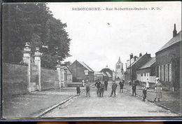 SEBONCOURT  RUE ROBERTINE - Francia