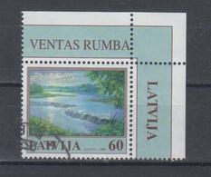 Latvia 2001 Mi 544 Used Europa,waterfall - Lettonia