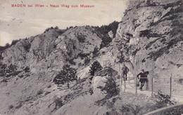 Baden Bei Wien * Neue Weg Zum Museum, Felsen, Gebirge * Österreich * AK2207 - Baden Bei Wien
