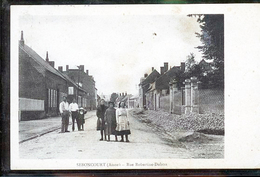 SEBONCOURT  RUE ROBERTINE DUBOIS CP ALLEMANDE - Autres Communes