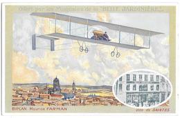 Saintes , Publicité Aviateur FARMAN - Saintes