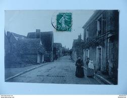 CPA SONZAY Rue De La Baretière 37 Indre Et Loire Ecrite Circulée 1910 Animée - Otros Municipios