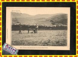 """Llivia Vista General,Cerdanya Epanola """" Moitié France /Moitié Espagne, (recto Verso) - France"""