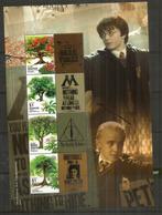 Arbres De Singapour, Sur B-F Harry Potter . Singapour./Singapore  Nouveau Bloc-feuillet Neuf ** - Arbres