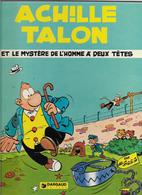 Greg Achille Talon  Et Le Mystère De L'homme à Deux Têtes - Achille Talon