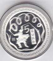 5 EURO, Argent, 2008. Jeux Olympiques De Pekin. Superbe. - San Marino