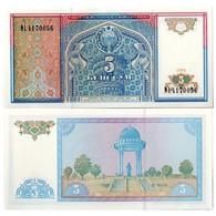 BILLET OUZBEKISTAN 5 SUM - Ouzbékistan