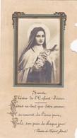 Image Pieuse - Sainte Thérèse De L'enfant Jésus  - Bouasse 11317B - Montpellier (34) 5 Novembre 1942 - Images Religieuses