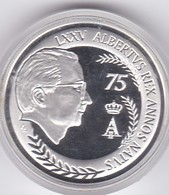 10 EURO, Argent, 2009. 75 Ans Du Roi Albert II. Superbe. - Belgique