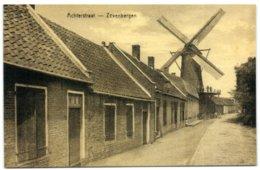 Zevenbergen (Noord-Brabant) -  Molen Fleur - Achterstraat - Zevenbergen