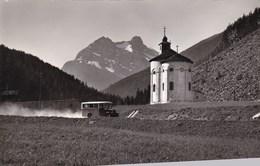 Suisse, Saas Fee, Saas Balen, Kirchen, Mittaghorn Und Egginer (pk66046) - VS Valais