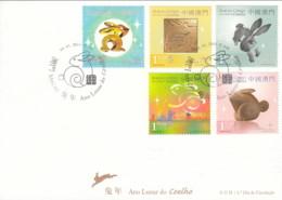 ENA131 - Ano Lunar Do Coelho - 05.01.2011 - FDC