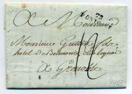 72 PONTOISE   Ecrite De Batincourt / Dept De Seine Et Oise / 18 Juin 1792 - 1701-1800: Precursores XVIII