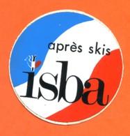 Autocollant ISBA APRES SKIS - Autocollants