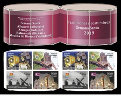Spain 2019 - Traditions And Customs - Holy Week Stamp Booklet Mnh - 2011-... Unused Stamps