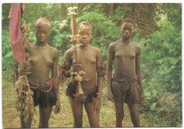 Ngbakmeisjes Tijdens De Initiatieritus In De Omgeving Van Gemena - 1973 (Za�re) - Congo - Kinshasa (ex-Zaïre)
