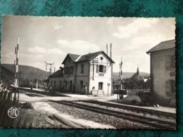 CPSM  HAYBES. La Gare (Ardennes) - Autres Communes